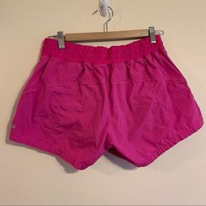 Lululemon Hot Pink Athletic Running Shorts 10
